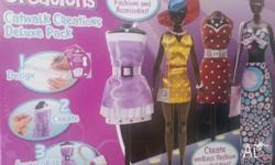 For Sale brand new Crayola Catwalk Creations set. RRP