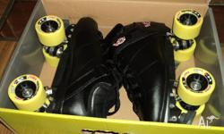 Crazy roller skates bought in April worn twice