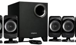 Surround sound speakers in perfect condition used for