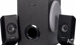 Creative 2.1 speaker system in good working condition,