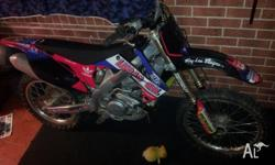 HONDA CRF 450 R FUEL INJECTED VERY STRONG QUICK