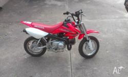 CRF50F Great little learners bike owned since new! Very