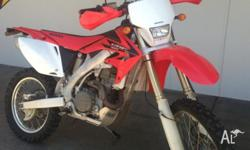 Honda CRF450x Perfect Condition 11/2005 only 2221kms