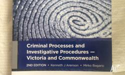 RRP $88 Great condition. Criminal Processes and