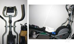 This GoFit Platinum Cross Trainer with digital display