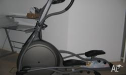 Vision HRTX6200 Cross Trainer - 6 years old, good