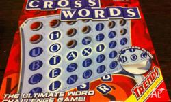 Cross Words Children's board game. Used but in great