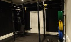 Crossfit racking near new purchased from Gym and