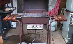 Spring is here and it's BBQ time, it has a hooded lid,
