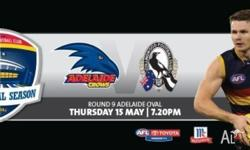Crows V Collingwood Members Tickets, Boundry Line, Row