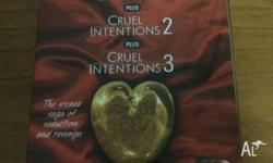All 3 cruel intentions movies in a limited edition box