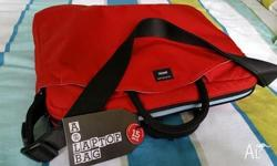 Brand New Crumpler 15 inch Laptop Bag. - Brilliant Red