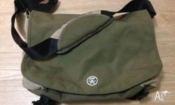 "Used laptop bag. Fits MacBook Pro 15"" or similar sized"
