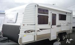 "Crusader Tourline 18'6"", 2010, White, Caravan,"