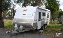 "Crusader X-Country 17'6"" OFFROAD Combined Shower"