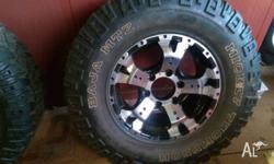 2 ONLY, brand new 6 stud landcruiser pattern, 16x8 CSA