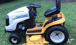 CubCadet Super LT 1554 ride on mower has a massive 27hp