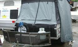 Cub Supamatic Drover Extreme Off Road Hard Floor Camper