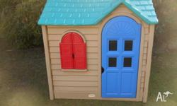 LITTLE TIKES CUBBY HOUSE.. NO FADING - IN FANTASTIC