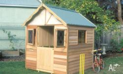 Cubby House Timber The Tudor Cubby 1.8w x 1.8d x 2.3h