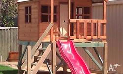 Cubby houses, forts from $945.00 Visit our website