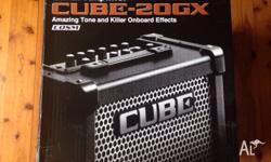 Guitar Amp, Roland Cube-20GX Brand New Paid $249 last
