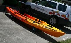 Cuda Fishing Kayak Please contact with postcode for