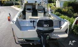 For sale 18ft Powercraft Evinrude 90hp Brand new