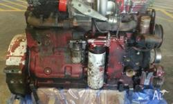 8.3 lt IXL red engine Bottom end rebuilt needs pistons