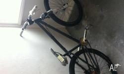 Custom built NS suburban Dirt Jumper 3 Forks 650 ONO.