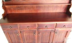 Custom Made Chiffonier Sideboard in excellent