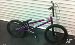Mankind Custom built bmx up for sale Spent over 2.5K