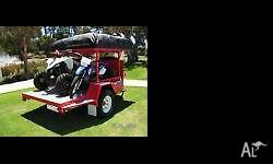 Custom Offroad family camper trailer Has 2x queen size