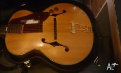 This a 43 year old gibson coppy it has fishman pickups
