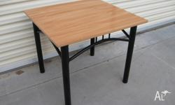 Cute side table or coffee table Good solid base legs