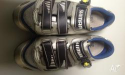 Shimano SH-R214 Carbon cycling shoes Size 44 in