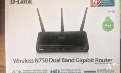 High Intensity Router Dual Band 2.4GHz and GHz 4 Lan