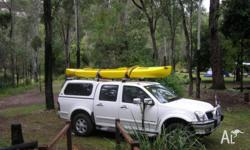 4.2m Double seat Kayak in v/good condition - used only