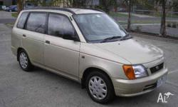 Daihatsu sold the Pyzar as the station wagon of the