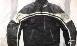 Dainese leather jacket size 44 with kevlar panels for