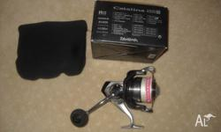 daiwa catalina 6500H spinning reel. in perfect