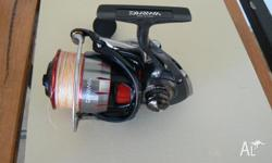 Daiwa ballastic 4000SH used once impulse buy. has 20lb