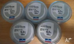 DAIWA Justron DPLS mono fishing line - 500m Made in
