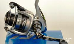 Daiwa Laguna Spinning Reel ?Digigear design ?Infinite
