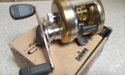 New Daiwa Millionaire CV-Z203A Fishing Reel. Made in