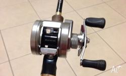 Daiwa Pluton used for one season, some scratches but
