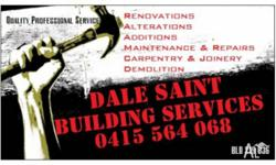 -0415564068-  BUILDING MAINTENANCE & repair SPECIALIST