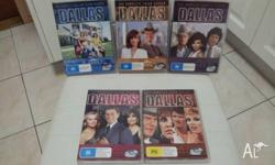Dallas - Tv Series, Seasons 1-6 Like brand new Only