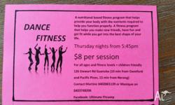 Dance fitness thursday nights at guanaba meet at 5:45pm