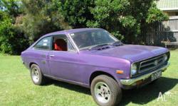 Datsun 1200 Coupe A15 5Speed Stanza dogleg Box Ute Diff